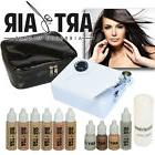 Art of Air Professional Airbrush Cosmetic Makeup Kit / Fair