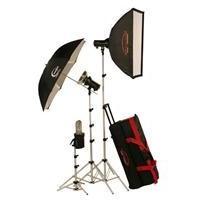 Photogenic AKC990BK 960 WS Portrait Studio 3 Light Soft Box