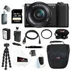 Sony Alpha a5100 ILCE5100L/B w/ 16-50mm 24MP Digital Camera