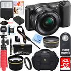 Sony Alpha a5100 Mirrorless Digital Camera 16-50mm Lens