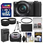 Sony Alpha A5100 HD Wi-Fi Digital Camera & 16-50mm Lens