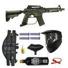 US Army Alpha Black Tactical Paintball Marker Gun 3Skull 4+1