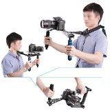 Neewer® Aluminium Alloy Foldable DSLR Rig Movie Kit Film