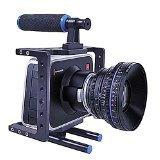 Aluminum DSLR Camera Video Cage Kit,Includes Camera CageTop