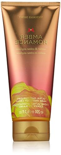Victoria's Secret Amber Romance Ultra Moisturizing Hand and Body Cream 6.7 fl oz