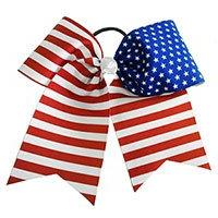 American Flag Patriotic Stars and Stripes Bow