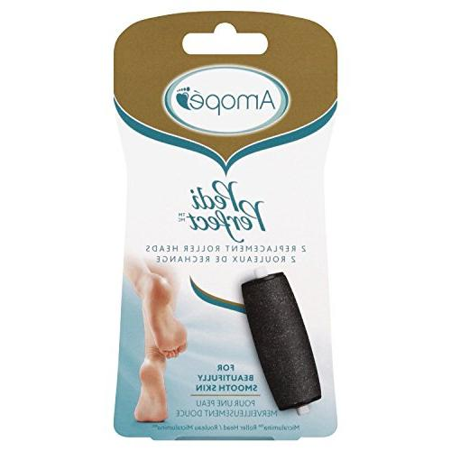 Amopé Pedi Perfect Electronic Pedicure Foot File Super Pack