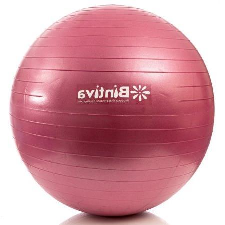 Anti-burst Fitness Exercise Stability Yoga Ball / Swiss Birthing gym Ball 65cm