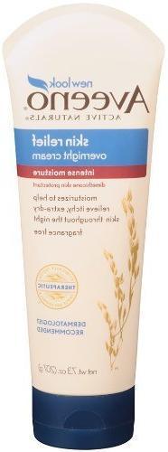 Aveeno Anti-itch Skin Relief Overnight Cream 7.3 OZ