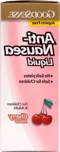 Good Sense Anti-Nausea Liquid For Adults & Children Cherry