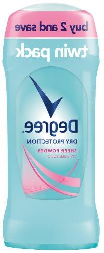 Degree Dry Protection Antiperspirant Deodorant, Sheer Powder