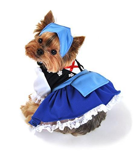 Anit Accessories AP1085-L Gretchen Beer Maiden Dog Costume