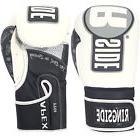 Ringside Apex Flash Sparring Gloves, 14 oz, White/Black