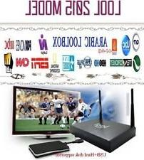 LOOL Arabic IPTV box with 650+ channels,1080p, Wi-Fi
