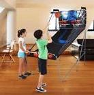 Foldable Electronic Dual Hoops Arcade Basketball Mini Indoor