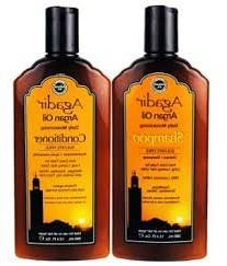 "Agadir Argan Oil Daily Shampoo + Conditioner ""Combo Set"" 12."