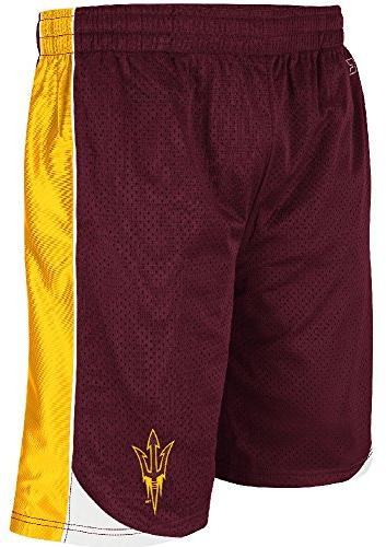 Arizona State Sundevils 11 Inch Inseam Embroidered Poly