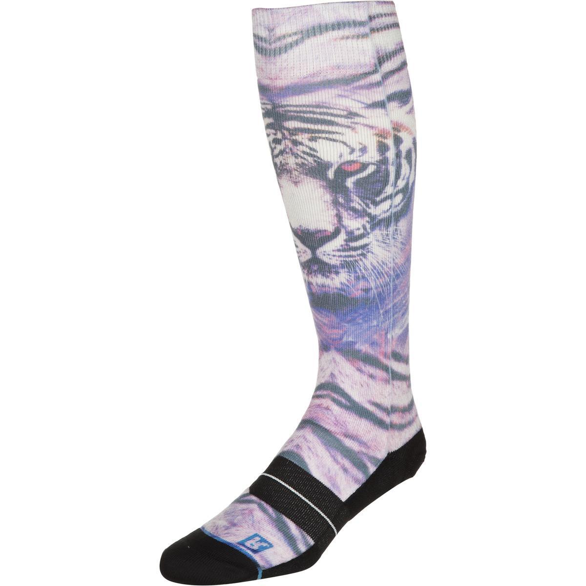 Stance Artist Series Snowboard Sock - Women's White Bengal,