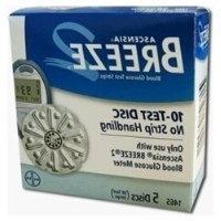 Ascensia Breeze 2 Test Strips 㢠Diabetic Test Strips -