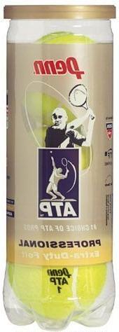 Penn ATP Regular Duty Tennis Balls - 3 Ball Can