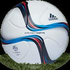 ADIDAS AUTHENTIC MATCH BALL PRO LIGUE 1 FRENCH SOCCER LEAGUE