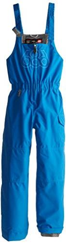 686 Boys Authentic Recess Bib Pants, Blue, Small