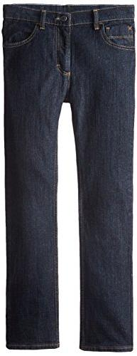 Wrangler Big Boys' Authentics Straight Jeans, Rinse Riot, 10
