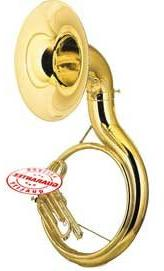 Fever AVA2450L Student BBb Sousaphone Gold Lacquer, AVA2450L