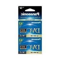 Panasonic AY-DVM63HD2 MiniDV Cassette 2 Pack