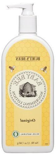 Baby Bee Nourishing Lotion, Original, 12 Ounce