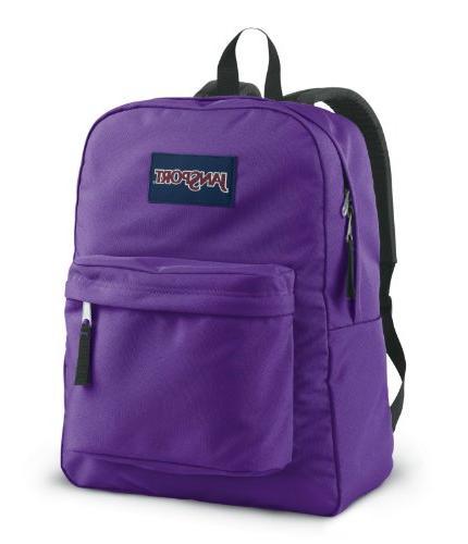Jansport Backpack All Color Black Navy Grey Blue Purple Any