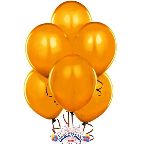 24 Inch Latex Balloons Orange  Pkg/12