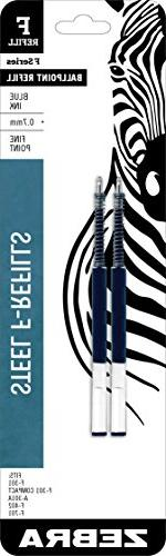 Zebra Ballpoint F-Refills For F-301 Ultra,F-301 Pen, F-301