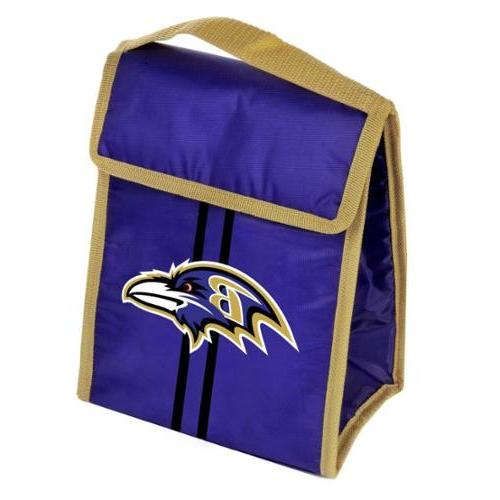 Baltimore Ravens Purple Insulated NFL Lunch Box