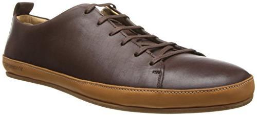Vivobarefoot Men's Bannister Sneaker, Dark Brown, 43 EU/10-