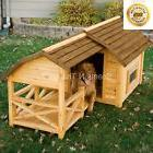 Barn Dog House Weather Resistant Wood Extra Large Outdoor