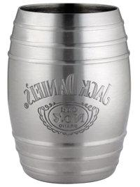 Jack Daniel's Barrel Stainless Steel Shot Glass