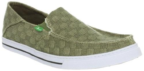 Sanuk Men's Baseline Checked Out LoaferMoss9 M US