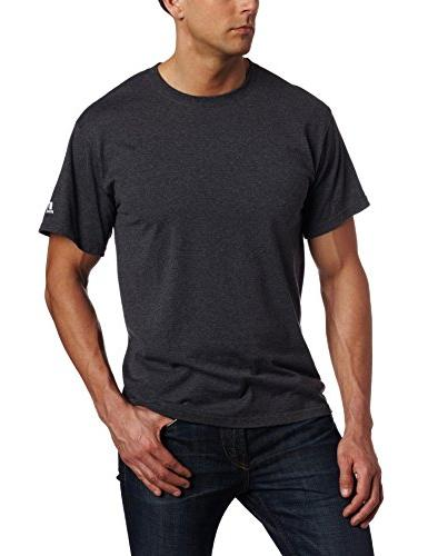 Russell Athletic Men's Basic T-Shirt, Maroon, Large