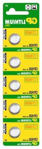 Gp Batteries Cr1620-c5 Lithium Coin Cell