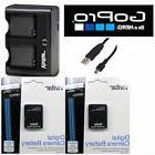 Battery for GoPro HD Hero3+ Hero3 / 2 Pcs AHDBT-302 301 +