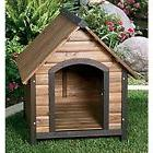Small Dog House Outdoor Bed Wooden Shelter Wood Weatherproof