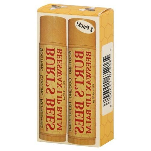 Burt's Bees Beeswax Lip Balm Tube .15 oz