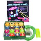 Belgian Aramith Glow in the Dark Pool Ball Set - FREE US