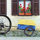 Bicycle Trailer Dual Wheels Storage Bike Camp Transport