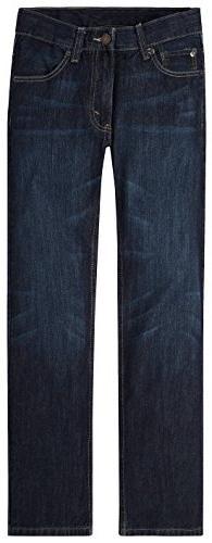 Levi's Big Boys' 505 Regular Fit Jeans, Dark Sky, 12