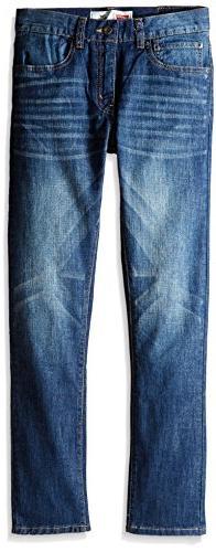 Levi's Big Boys' 510 Skinny Fit Jeans, Hudson Blue, 16