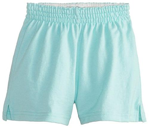 Soffe Big Girls' Authentic Low-Rise, Beach Glass, Medium