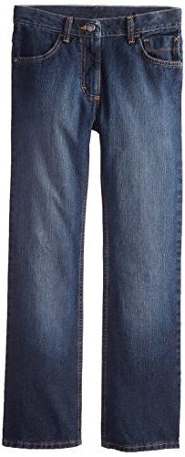 Wrangler Big Boys' Authentics Boot Cut Jeans, Fresh Indigo,