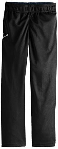 PUMA Big Boys' Pure Core Pant, PUMA Black, Medium